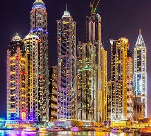 Фотообои Дубай ночь