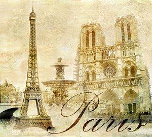 Фотообои Париж винтаж