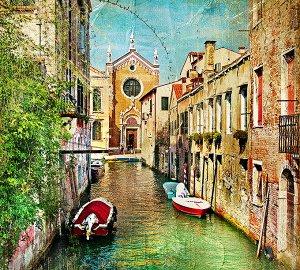 Фотообои Каналы Венеции 2