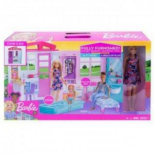 Дом для кукол Mattel Barbie Раскладной домик большой1