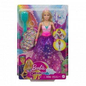 Кукла Mattel Barbie Принцесса 2-в-112