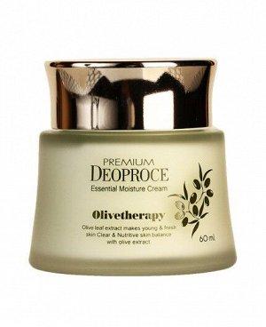 Интенсивно увлажняющий и питающий крем для лица с маслом оливы Olivetherapy Essential Moisture Cream