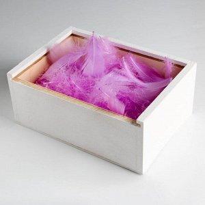 Наполнитель из перьев для шаров и подарков «Для кого-то прекрасного» . 15 х 11 см