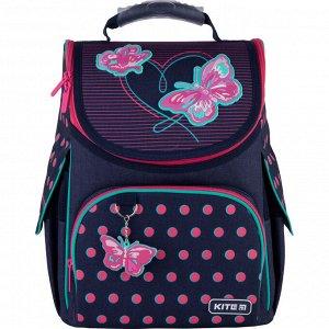 Рюкзак Kite Education каркасный 501 Butterflies