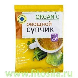 """Суп-пюре """"Овощной"""", 30 г, марка """"Компас Здоровья"""""""