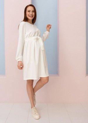 """Платье """"Элис"""" для беременных; молочный"""