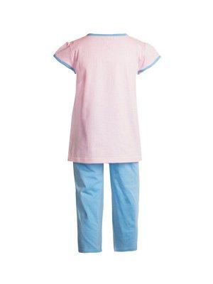 Футболка+шорты для девочек арт 50149