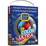 Стиральный порошок Top House Color Ultra, концентрат, автомат, 1,8 кг