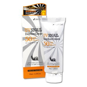 Солнцезащитный крем с улиткой 3W Clinic UV Snail Day Sun Cream SPF 50 PA+++, 70ml