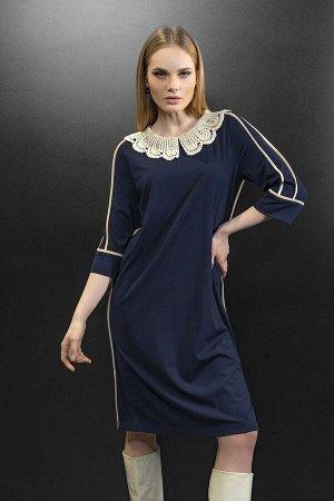 Платье, воротник Noche mio 1.205