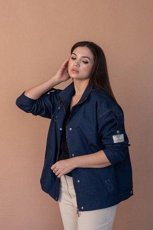 Куртка Angelina 637 синий