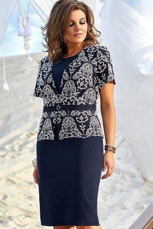 Жакет, платье Vittoria Queen 12653