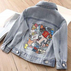 Джинсовая куртка BabyKids Element a639
