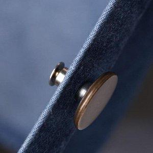 Пуговицы для сужения пояса, 17 мм, 2 шт, цвет антик