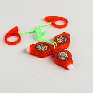 Вертушка для детей «Бумеранг», световая, цвета МИКС