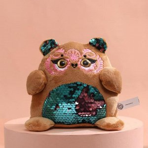 Мягкая игрушка с пайетками «Мишка»