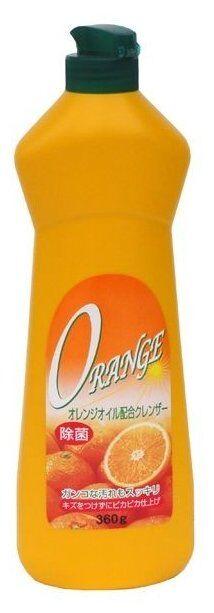 """Крем чистящий Rocket Soap """"Cleanser"""" для ванны/кафеля/унитаза Апельсин, 360гр, п/б, 1/20"""
