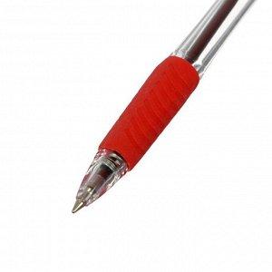 Набор ручек шариковых автоматических 4 штуки R-509, 2 синих+1 красная+1 черная, узел 0.7мм, EK 35675