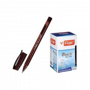 Ручка шариковая Flair PEACH TRENDZ, узел 1.0мм, пластик, коричневая F-1150-Т/кор