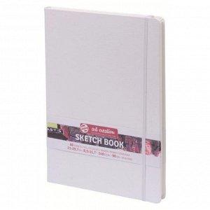 Блокнот для рисунков А4, 140 г/м?, Royal Talens, 80 листов, твёрдая обложка, белый