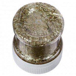 Поталь стружка 30 мл (1г), Lu*art Deco Potal, цвет брызги шампанского GP04V0010