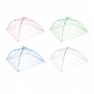 ШОК-цена! INBLOOM Чехол-зонтик для пищи, 30х30см, полиэстер
