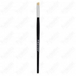 Кисть для бровей, Provoc Angled Eyebrow Brush, W902S