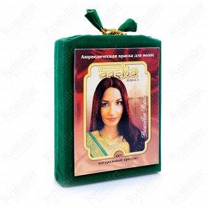 Аюрведическая краска для волос, Aasha Herbals, вишневое вино