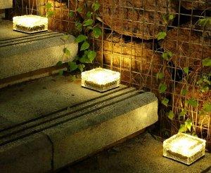 """Садовый светодиодный светильник """"Куб"""""""