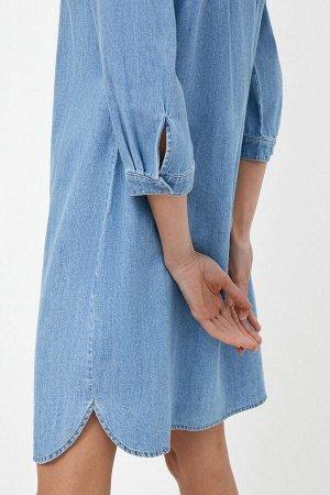 Платье джинсовое жен. ONION синий
