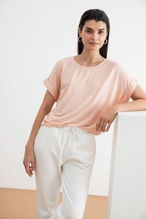 Блузка-топ жен. Vilas2 нежно-розовый