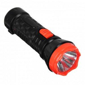 ЧИНГИСХАН Фонарь аккумуляторный 1х0,5 Вт LED, вилка 220В, пластик, 12,3x4,3см