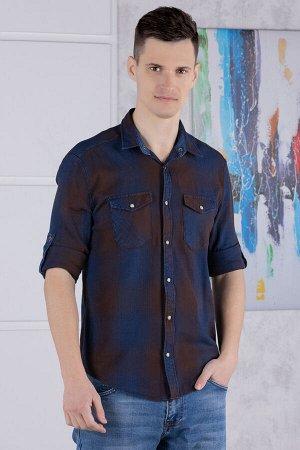 рубашка              17.2566-LACIVERT