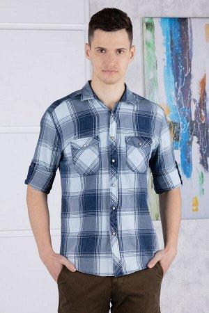 рубашка              17.2566-MAVI