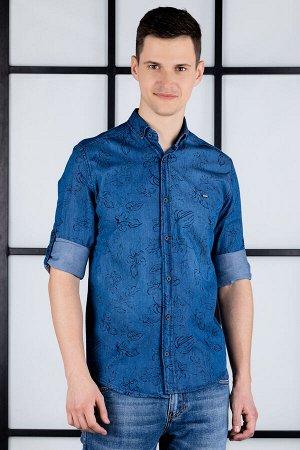 рубашка              17.2457-MAVI