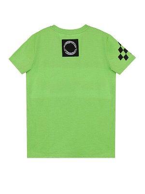 Комплект Состав: 95% хлопок, 5% эластан  Цвет: зеленый, черный, черный, белый  Год: 2021 *Комплект: футболка, шорты *из качественного эластичного и приятного на ощупь трикотажа джерси *высокое соде
