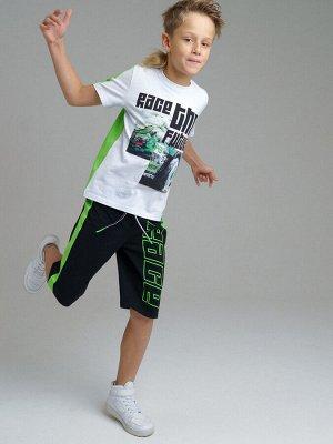 Комплект Состав: 95% хлопок, 5% эластан  Цвет: белый, зеленый, черный  Год: 2021 *Комплект: футболка, шорты *из качественного эластичного и приятного на ощупь трикотажа джерси *высокое содержание х