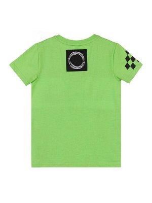 Комплект Состав: 95% хлопок, 5% эластан  Цвет: зеленый, белый, черный, серый  Год: 2021 *Комплект: футболка, шорты *из качественного эластичного и приятного на ощупь трикотажа джерси *высокое содер