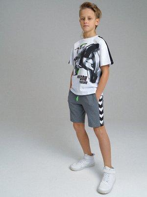 Комплект Состав: 95% хлопок, 5% эластан  Цвет: черный, белый, серый  Год: 2021 *Комплект: футболка oversize силуэта, шорты *из качественного эластичного и приятного на ощупь трикотажа джерси *высок