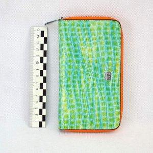 Сумка Baolong for телефон большая 1 замок цв.зеленый (i33-S)