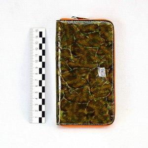 Сумка Baolong for телефон большая 1 замок цв.темный с цветами (i33-S)