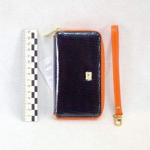 Сумка Baolong for телефон маленькая 2 замка с ремешком цв.черный рис.№2 (i36-S)