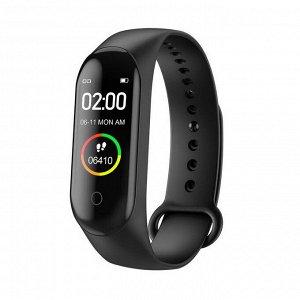 Smart фитнес-браслет M4 (пульс,кол-во шагов,часы)