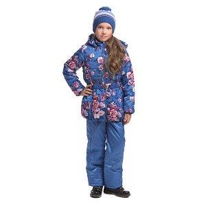 Куртка Состав: Верх- 100% полиэстер, покрытие- 100% полиуретан, Подкладка- 100% полиэстер, Наполнитель- 100% полиэстер, 200 г/м2 Цвет: голубой, розовый Год: 2021 Утепленная стеганая куртка выполнена и