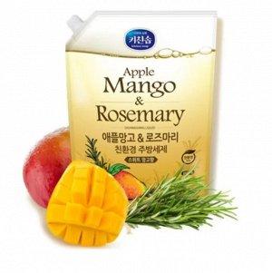 Жидкость для мытья посуды «Mukunghwa» (с ароматом тропических фруктов и трав) 1,2 л МУ