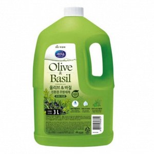 Жидкость для мытья посуды «Mukunghwa» (с ароматом базилика и душистых трав) канистра с закручивающейся крышкой 3 л