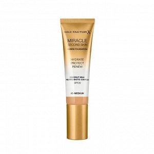 .Макс  Фактор тон/основа Miracle Second Skin  NEW05 medium