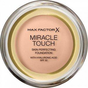 .Макс  Фактор   крем-пудра MIRACLE TOUCH  №35 pearl beige