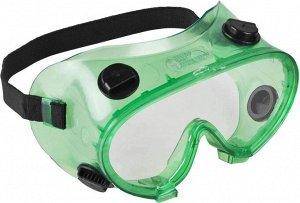 ЗУБР МАСТЕР 5  ударопрочные очки защитные с непрямой вентиляцией