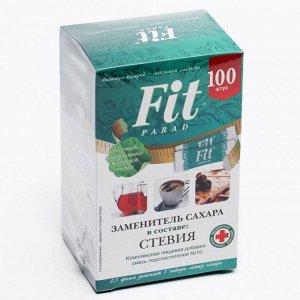 Заменитель сахара Fitparad на эритрите и стевии №10, 50 г
